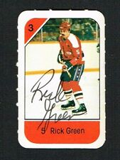 Rick Green signed autograph auto 1982-83 Post Cereal NHL Hockey Card