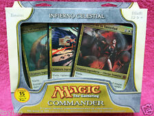 SPANISH Magic MTG Factory Sealed C11 2011 Commander Heavenly Inferno Deck EDH SP
