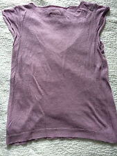 Zadig&Voltaire knit top lilac Size 2