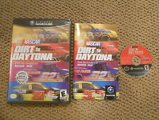 Nascar Dirt To Daytona Nintendo Gamecube Game Complete CIB!