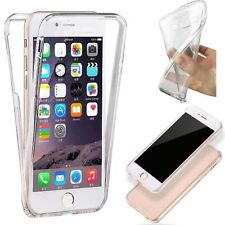 FUNDA IPHONE 7 4,7 GEL TPU 360 COVER TAPA PROTECTOR PANTALLA TRANSPARENTE