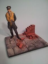 120mm Brick wall and base Vignette 1/16th scale (figure not included)