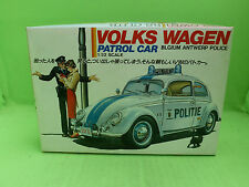 LS 52 VW BEETLE KAFER PATROL CAR BELGIUM POLICE 1/32 - UNBUILT INBOX COMPLETE -