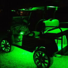 Golf Cart LED Body Glow Neon Wireless Lights 12Pods Kit For EZGO CLUB CAR YAMAHA