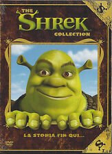 Dvd Video Box Cofanetto COLLECTION **THE SHREK 1 + THE SHREK 2** Nuovo Slipcase