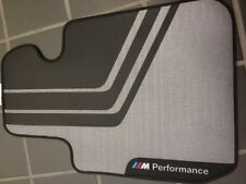 BMW F30 F31 F80 M PERFORMANCE FLOOR MATS FRONT AND REAR M3