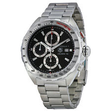 Tag Heuer Mens Formula 1 Black Automatic Swiss Made Watch CAZ2010.BA0876