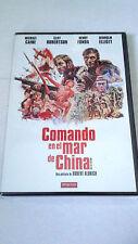 """DVD """"COMANDO EN EL MAR DE CHINA"""" ROBERT ALDRICH MICHAEL CAINE HENRY FONDA"""