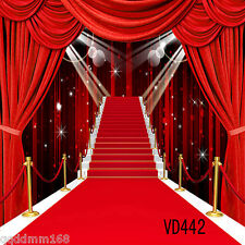 10X10FT Red Carpet Backdrop Photography Studio Photo Props Background VD442