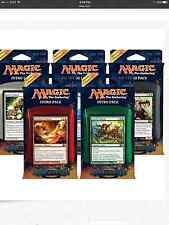 Magic 2014 / M14 Set of Five Intro Decks ENGLISH Sealed New free ship