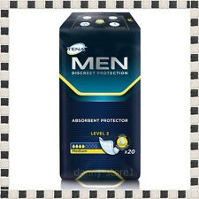 TENA for Men Level 2 Pack of 20 Incontinence Underwear Brief ,