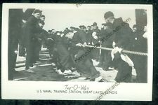 Illinois, Great Lakes u.s. Naval Training Station, Tug- (real photo(militaryG#17