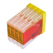 4 Drucker Tinte Patronen für Brother LC970 DCP130C DCP135C MFC230C MFC235C Y
