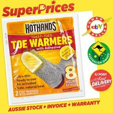 4 x HotHands Hand ◉ 2 Pairs Toe Warmers ◉ Disposable ◉ 8 Hours Heat ◉Ultra Thin◉