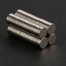 100Pcs Neodymium Disc Super Strong R are Earth N35 Small Fridge Magnets 5x1mm
