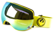 NEW 2016 Dragon X2 Goggles-Vivid Yellow-Smoke Gold+Yellow Red-SAME DAY SHIPPING!