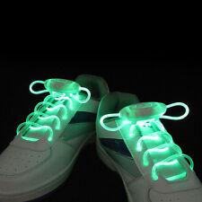 LED Leucht Elastische Schnürsenkel Schuhband Schuhbänder Ersatz Freizeit Neue