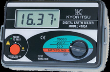 New KYORITSU 4105A Digital Earth Tester Multimeter Resistance Meter