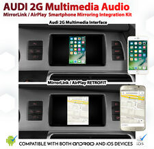 Audi A6 Q7 2G MMi CarPlay AirPlay MirrorLink GPS Audio Retrofit Kit