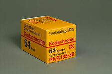 Kodachrome 64 Professional Film, PKR135-36, expired 4/89, deep frozen storage