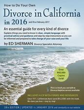 How to Do Your Own Divorce in California In 2016 : An Essential Guide for...