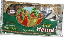 Ayur Rajasthani 100% Pure Natural Henna Powder Mehendi  Hair Dye 200gm