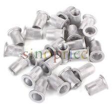 25pcs Aluminum M8 Rivet Nut Rivnut Insert Nutsert 8mm