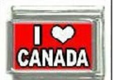I heart Canada WHOLESALE ITALIAN CHARM in stainless steel 9MM 2017