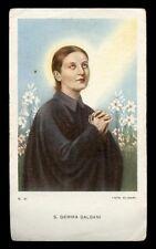 "santino-holy card""S.GEMMA GALGANI"