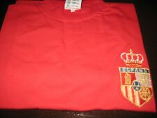 SPAIN RETRO FOOTBALL SHIRT   XL  NEW WITH TAGS/PACKET