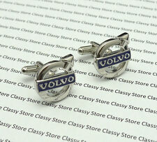 Volvo Luxury Car Logo Cufflinks Ideal Groomens Gift - Free Cufflink Box