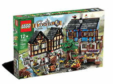 "LEGO Castle ""Medieval Market Village"" (10193) - retired!  New, HTF!"