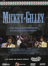 Mickey Gilley ~ The Girls All Get Prettier: His Greatest Hits in Concert by Gil