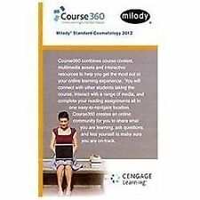 Printed Access Card for Milady Standard Cosmetology 2012 Online Course on...