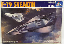 AVIATION : F-19 STEALTH 1/48 SCALE MODEL KIT MADE BY ITALERI (MLFP)