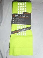 1 Pair Champion Maximum Performance Over the Calf Basketball Socks Yellow 6-12