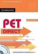 PET Direct Teacher's Book with Class Audio CD (Cambridge Books for Cambridge Exa