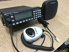 Motorola MCS2000 III 800Mhz mobile radio W/ Programming Police fire EMS Security