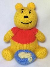 KNITTING PATTERN - Winnie the Pooh inspired chocolate orange cover / 15 cms toy