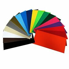 40 Sheets Assorted Colors Matte Removable Adhesive Backed Vinyl Cricut Cutters