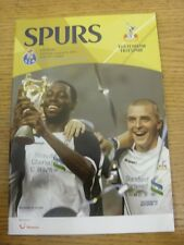 06/08/2005 Tottenham Hotspur v Porto [amigable]. toda falla con este artículo Wil