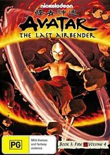 Avatar - The Last Airbender - Fire : Book 3 : Vol 4 (DVD, 2010) Unsealed