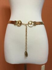 VTG WHITING DAVIS GOLD MESH EGYPTIAN COIN BELT