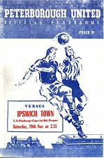 1955/56 Peterborough United v Ipswich Town, FA Cup 1st Round, PERFECT