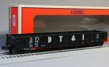 LIONEL DETROIT TOLEDO & IRONTON SCALE PS-5 GONDOLA 82667 o train 6-82668 NEW