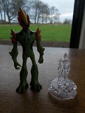 2 x BEN 10 Action Figure Alien Force VGC 4 inch Moving limbs parts