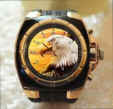 White Eagle Bird of prey UNIQUE Commando Army Style Chunky Gift Wrist Watch