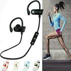 Bluetooth Headphone Stereo Wireless Earphone Headset For iPhone Samsung LG Lot