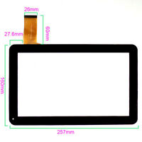 "Digitizer Glass Touch Screen for 10.1"" Fusion5 xtra 10.1 Tablet REPLACEMENT"