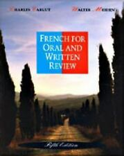 French for Oral and Written Review, Charles Carlut, Walter Meiden, Good Book